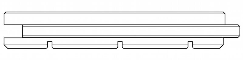 Профиль массивной паркетной доски ИЛИМДРЕВ